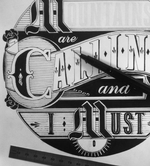 3D printed typographic