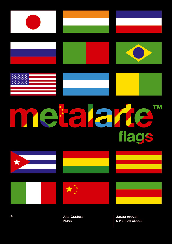 Alta Costura Flags de Ramón Úbeda para Metalarte