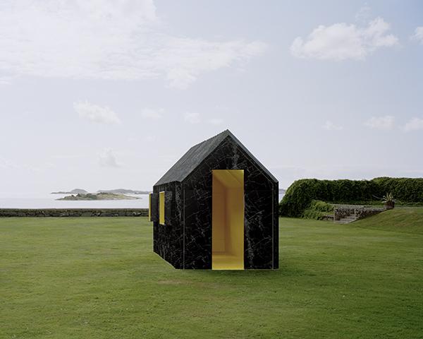 Chameleon Cabin, la casa de papel de Mattias Lind