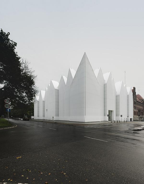 Filarmónica de Szczecin por Barozzi Veiga