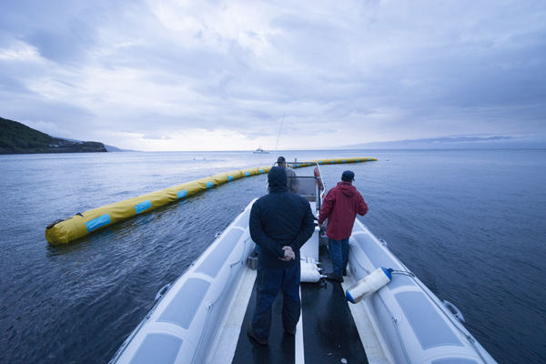 The Ocean Cleanup, Boyan Slat, 2014.