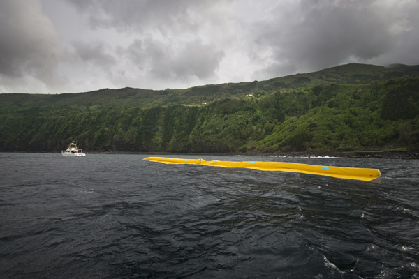 The Ocean Cleanup, Boyan Slat, 2014.