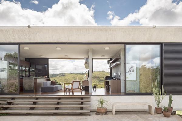 Casa Solar da Serra, vivienda unifamiliar de 3.4 Arquitetura