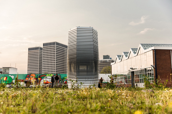 Smog Free Tower de Dan Roosegaarde