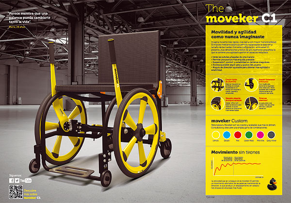 Moveker C1, James Dyson Award 2014.