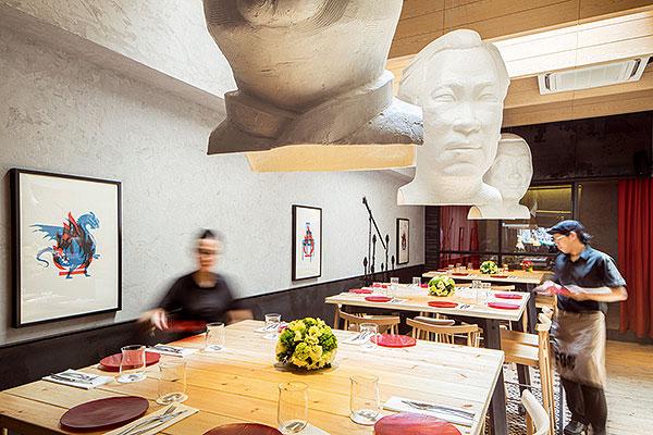 Restaurante FOC, Lagranja Design, 2014.