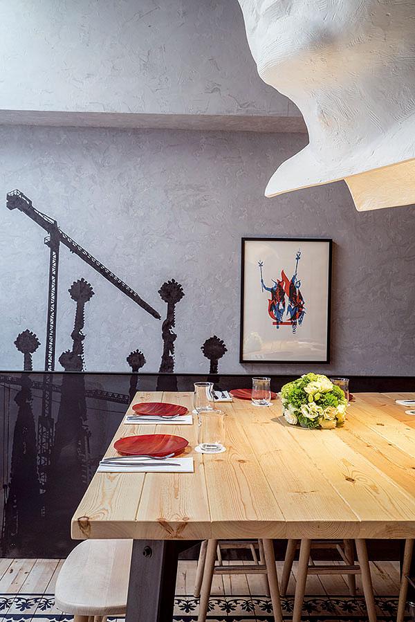 Foc la cultura catalana hecha restaurante por lagranja - Lagranja design ...