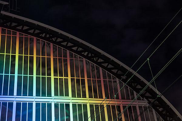 Rainbow Station, Roosegaarde, 2014.