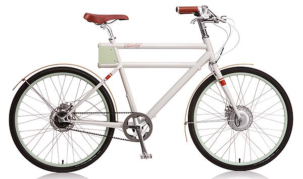 Bicicleta Faraday Porteur, Faraday Bicycles, 2014.