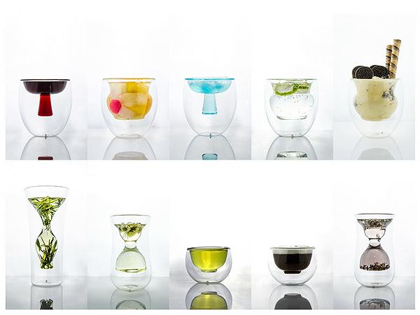 Li-Wai, vasos inspirados en la cerámica china por KDSZ