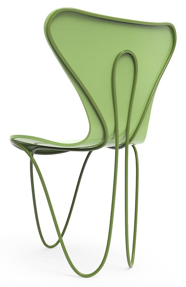 La exposición 7 cool architects de Fritz Hansen reinterpreta la silla Serie 7 de Arne Jacobsen