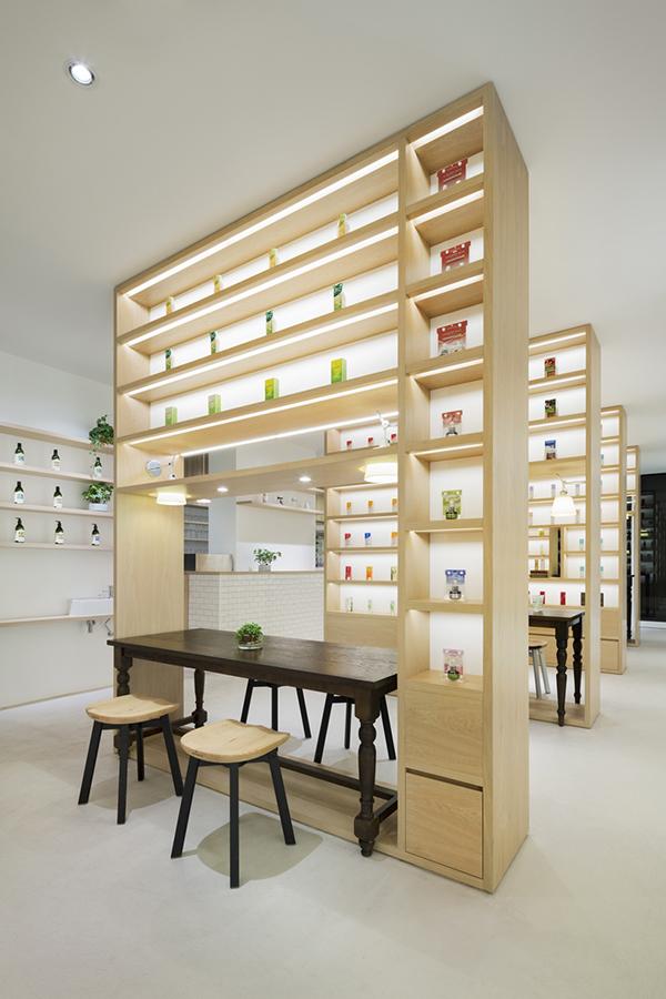 Beauty Library, el nuevo concepto de tienda de Nendo