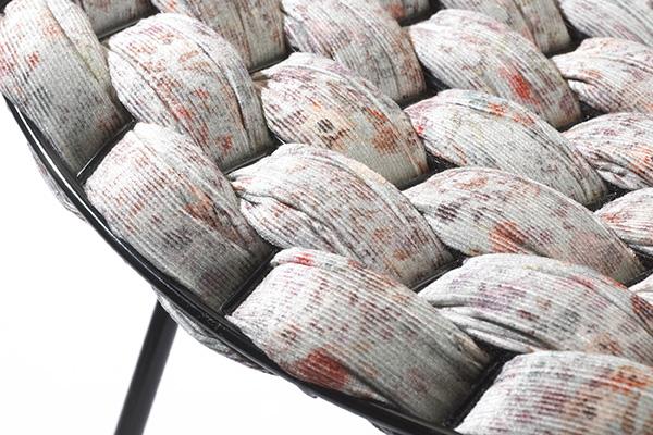 Bertoia Loom Chair, el homenaje de Clément Brazille a Harry Bertoia