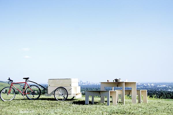 Bike Trailer, el remolque para bicicletas de Studio North
