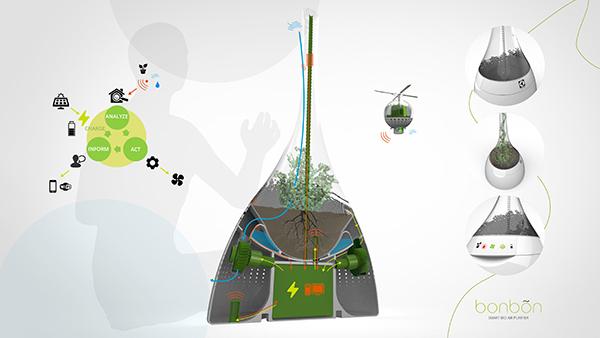 Bonbõn, el bio purificador de aire inteligente