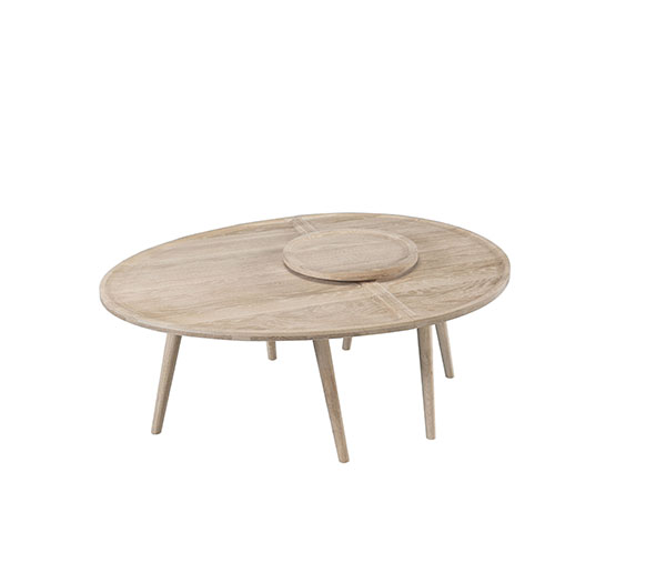 Colombo Coffe Table, Gonçalo Campos para Wewood