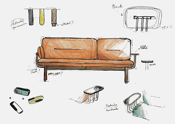 Cosmo, el sofá de LaSelva design studio
