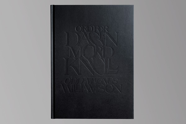 "Diseño editorial de ""Ord For Dagen: Mordknull"", Non-Format, 2014."