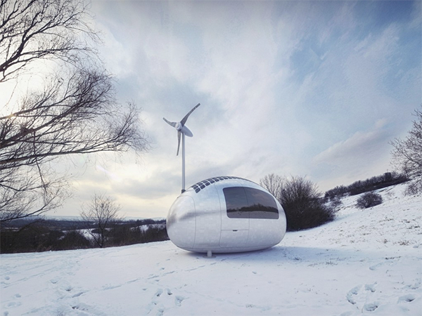 Ecocapsule, la gestión eficiente de los recursos de Nice Architects