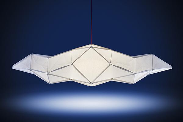 Fold, lámparas de suspensión de Octavio Amado