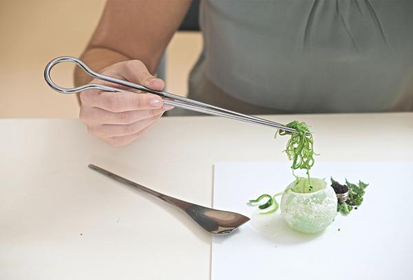 Fungi, la cubertería de Livin Studio para una nueva generación de alimentos