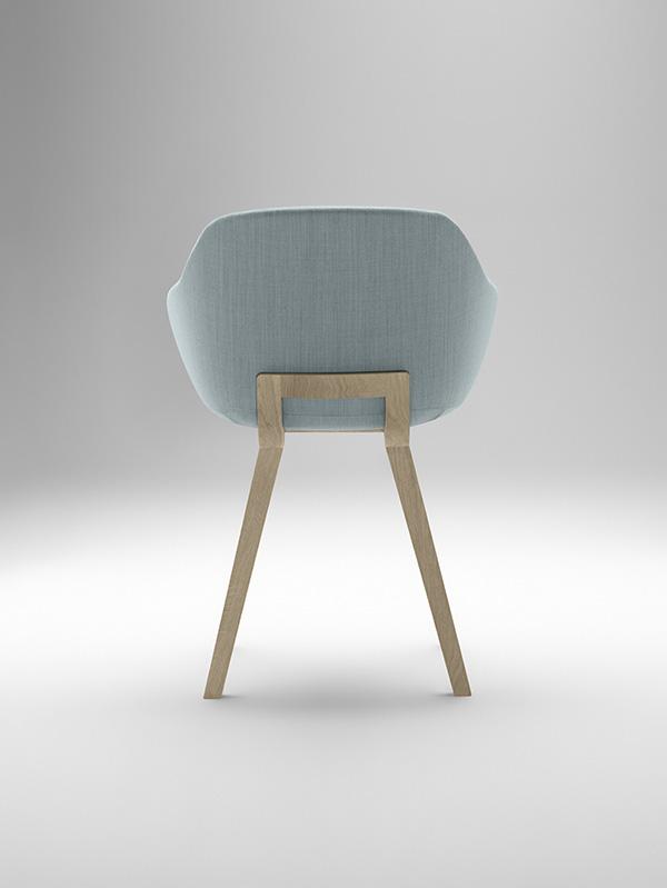 Kuskoa Bi, la silla de bioplástico de Alki, 2014.