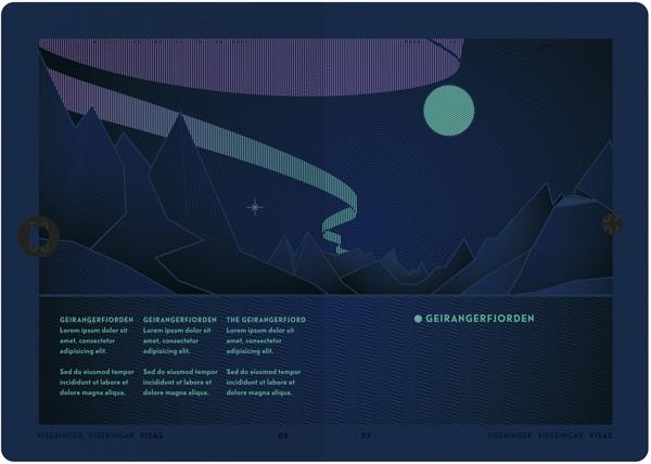 neue design studio renueva la imagen de los pasaportes noruegos