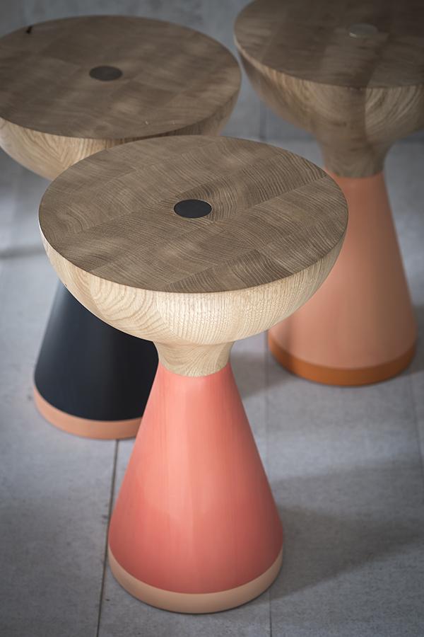 pinch presenta la serie float tables