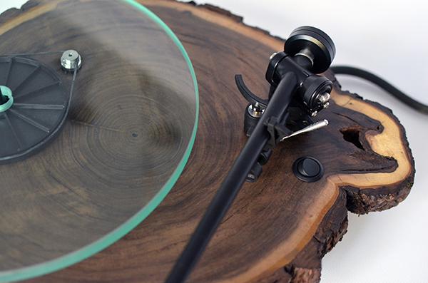 Silvan Audio Workshop, el tocadiscos de madera de Gary y Kent Walter