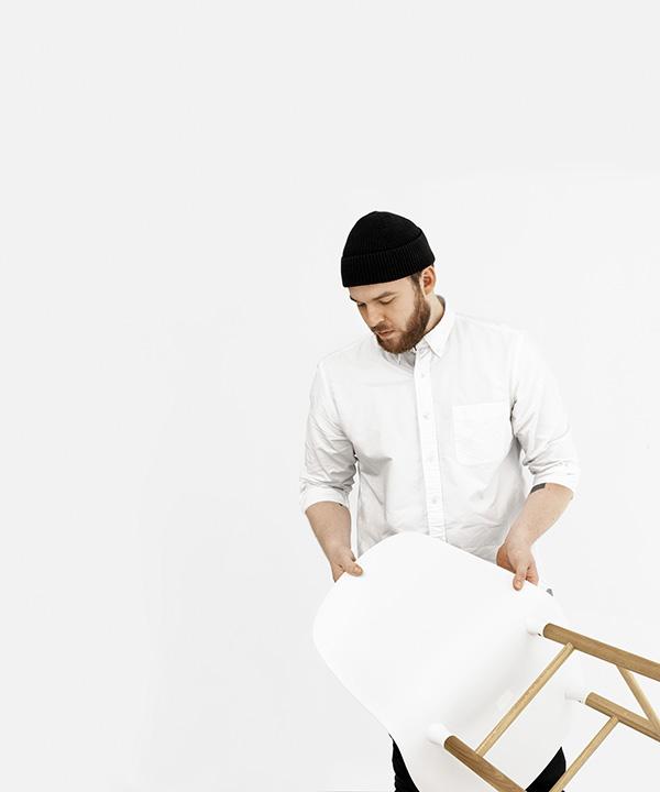 Mecedora Form, Simon Legald, Normann Copenhagen, 2015.