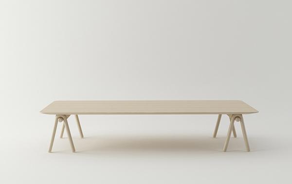 stick, la mesa de stone design para actus