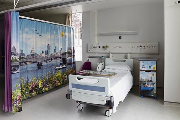 The Royal London Children's Hospital, Vital Arts, 2014.