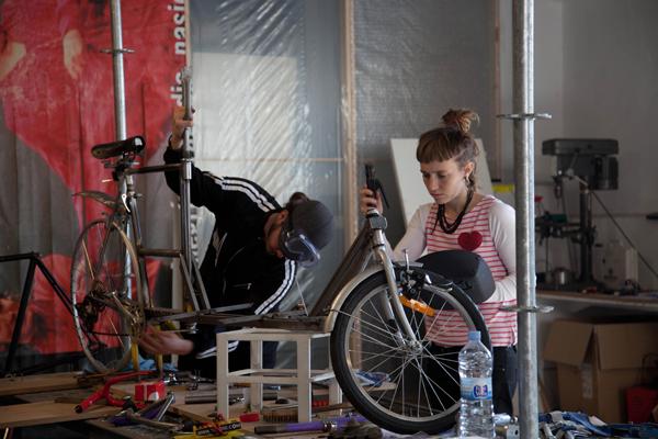 Bicicletas de Basurama y Mara Berkhout