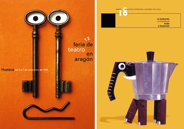 Isidro Ferrer, el sentido común y el color azul