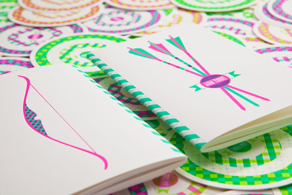 Cuaderno de notas Aim True, de The Hungry Workshop