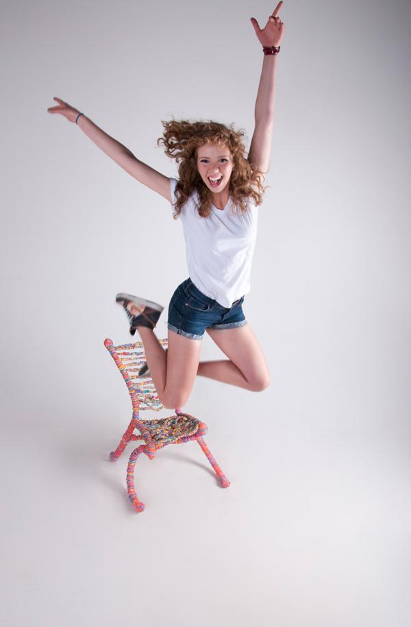 Rubberband Chair, la silla de gomas elásticas de Preston Moeller