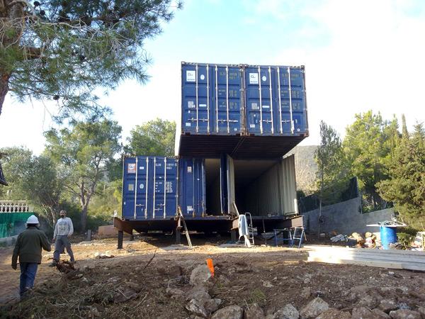 Contiene una casa vivienda hecha con contenedores - Casa hecha de contenedores ...