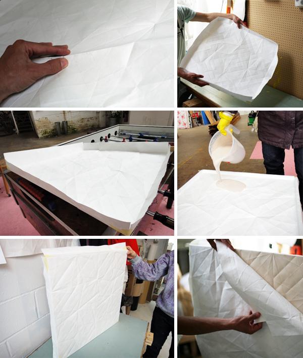 Cerámica de papel por Raw Edges