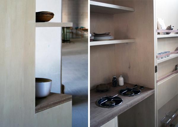 La cocina Keukecabinet por Johanneke Procee
