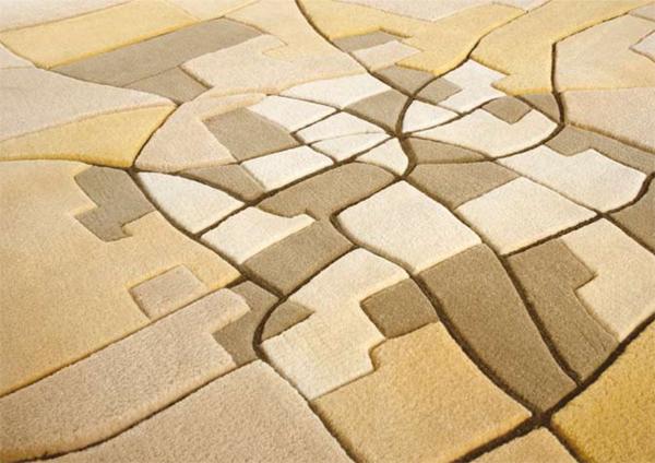 Landcarpet alfombras de Florian Pucher y Sophia Liu Bo