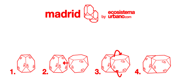 Madrid chair, composición infinita de Ecosistema Urbano