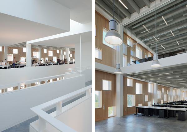 Escuela de arquitectura de Umeå en Suecia