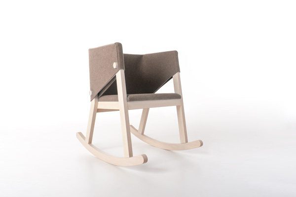 Ivetta Rocking Chair, Formabilio.