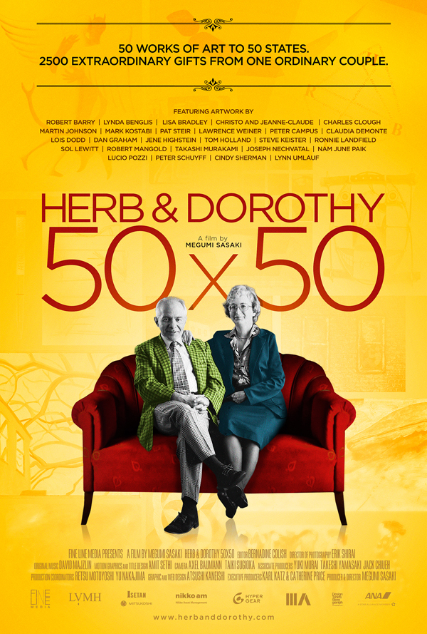 Documental Herb & Dorothy 50x50