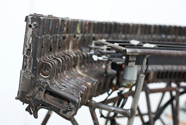 Arte con armas, de Pedro Reyes