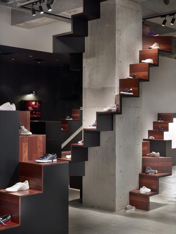 Nendo, tienda Puma House en Tokyo