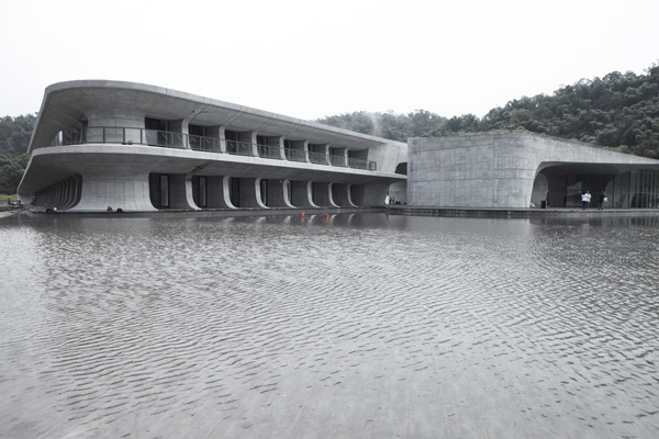 Centro de visitantes Sun Moon Lake de Norihiko Dan and Associates