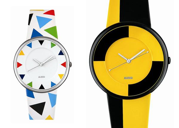 Alessi relojes por SANAA, Karim Rashid y Miriam Mirri