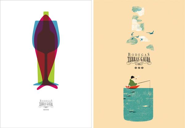 Concurso Cartel Publicitario Bodegas Terras Gauda