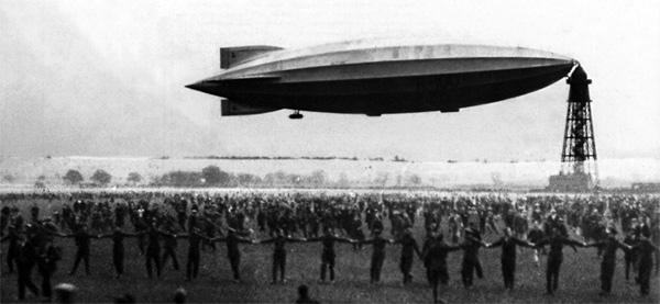 Los dirigibles, navíos aéreos